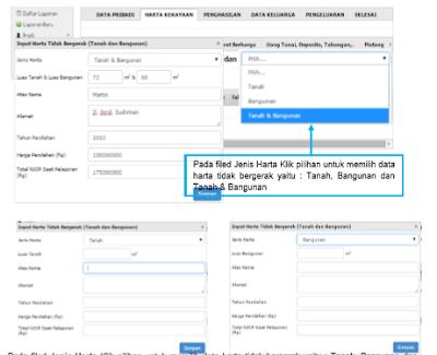Cara Mengisi Siharka 2020 di situs https://siharka.menpan.go.id untuk PNS atau ASN