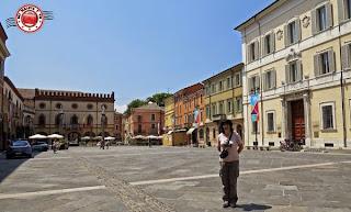 Rávena - Piazza Popolo