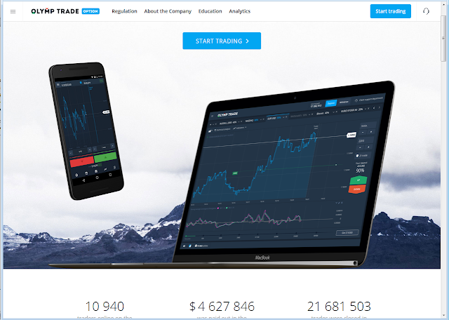 Website Olymp Trade