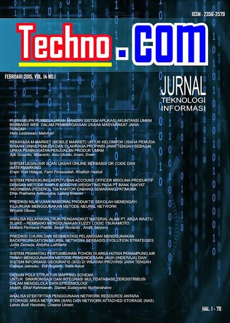 contoh jurnal, jurnal umum, jurnal pdf, jurnal TI, Teknik Informatika.