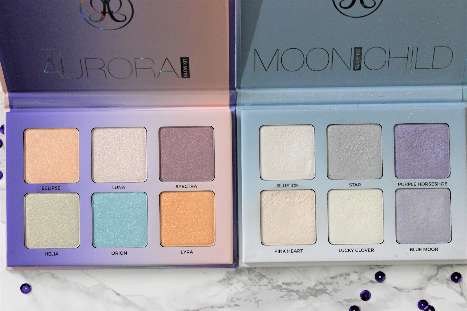 Anastasia Aurora and Moonchild Comparison