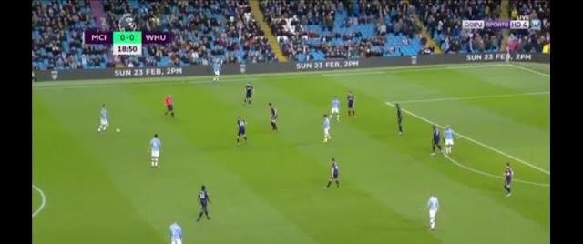 ⚽⚽⚽ Premier League Live Manchester City Vs Westham ⚽⚽⚽