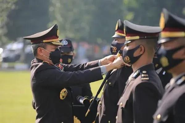 Masuk Rekor Muri Upaca Penutupan Pendidikan dan Pelantikan Perwira Sekolah Inspektur Polisi Angkatan Ke-49 Tahun 2020