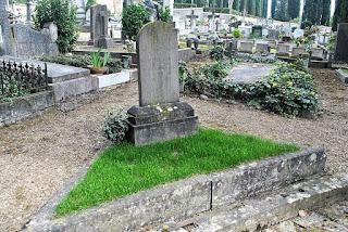 Osbert Sitwell's grave at the Cimitero degli Allori in Florence