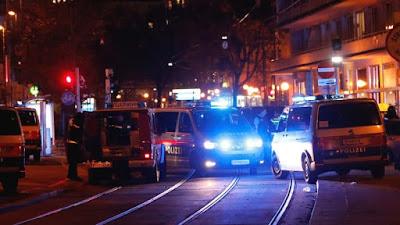 ضحايا عقب سلسلة هجمات وسط العاصمة فيينا