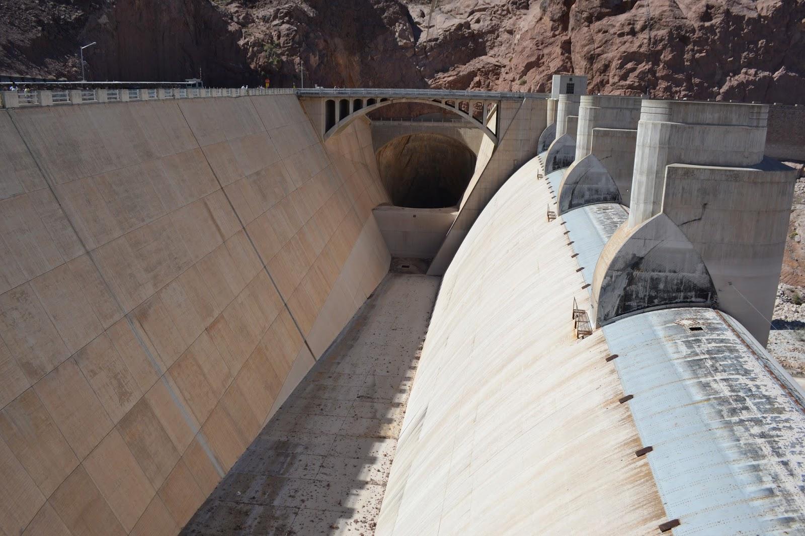 Hoover Dam Spillway [1600x1066] : InfrastructurePorn
