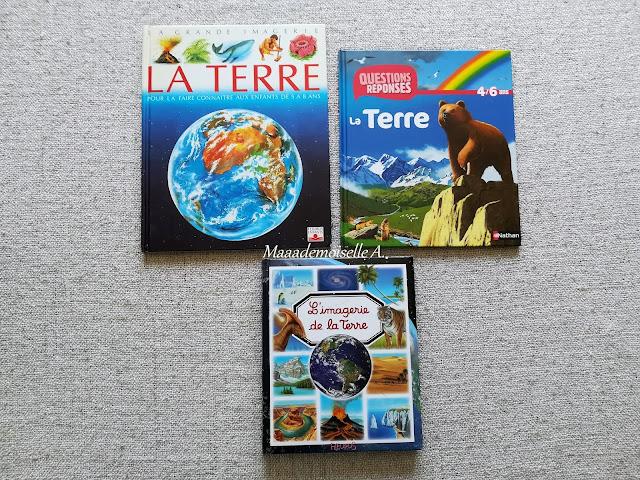 || Sélection de livres sur l'espace (Et dans leur bibliothèque il y a... # 12) - La Terre