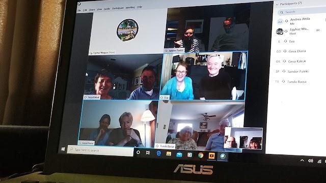 Baráti találkozó videokonferencián: szombatonként 10.30-tól