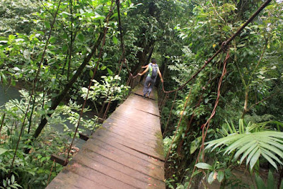 Parque Nacional Volcan Tenorio en Costa Rica