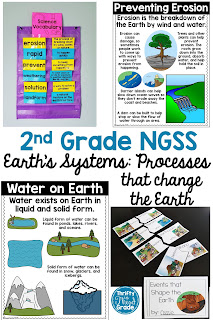 This second grade NGSS unit includes many resources that can be used to teach about Earth's Systems. From science experiments, to fun activities, you will have plenty of tools to form your science lesson plans. Your students will love the fun hands on activities, mini books for learning, and vibrant photo posters.