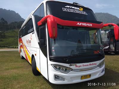 PO Bus Pariwisata di Bandung Megatrans Holiday