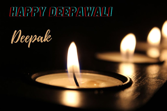 Diwali Wishes in Hindi with Name