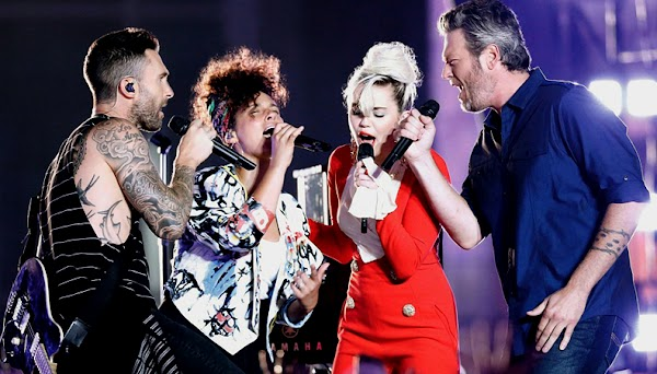"Alicia Keys, Blake Shelton, Adam Levine e Miley Cyrus performam ""Dream On"" do Aerosmith!"
