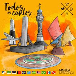 CD Marília Mendonça – Todos Os Cantos Vol. 01 Ao Vivo
