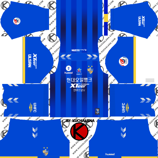 83a54650951 New!!! Ulsan Hyundai FC kits 2019 - Dream League Soccer Kits - Berbagi