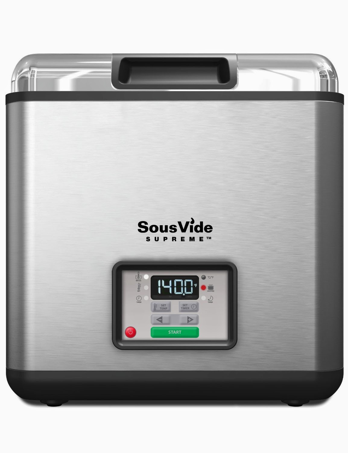Sous Vide Supreme SVK-00001 Water Oven, stainless steel, 11.2 liters, review, for nutritious tastier meals