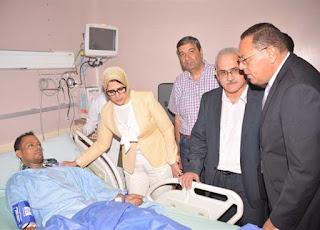 إحالة مدير مستشفى ديرب نجم ورئيس قسم الكلى للنيابة