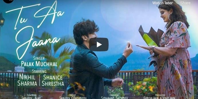 Tu-Aa-Jaana-Lyrics-poster