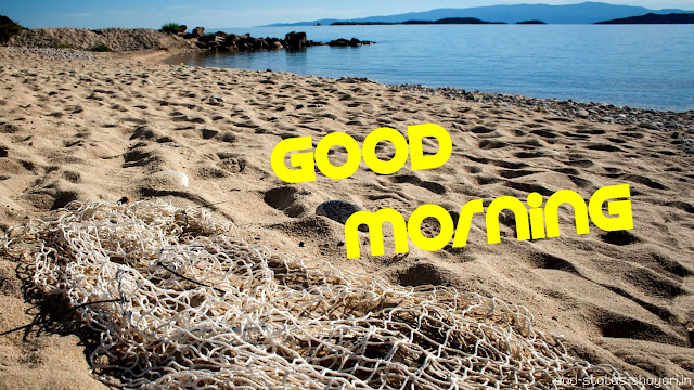good morning images sea side