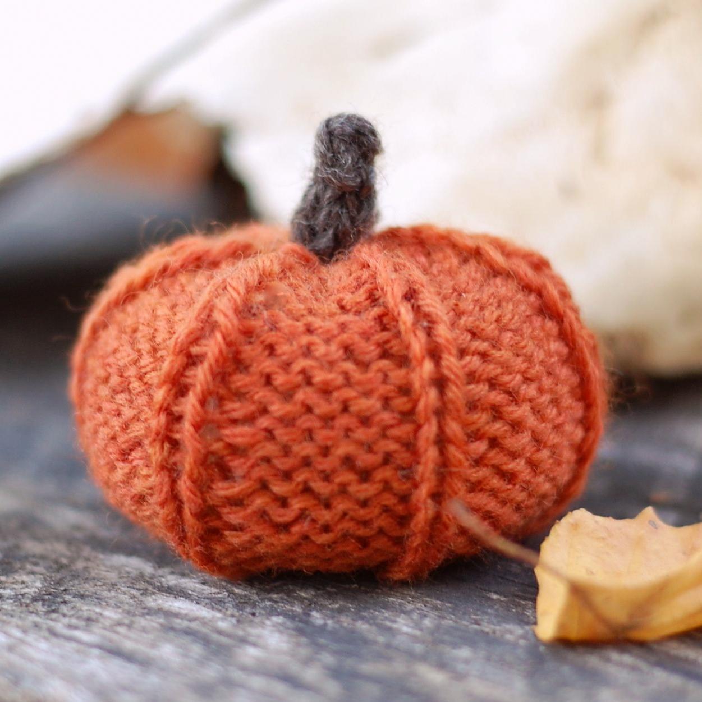 The Sitting Tree: Knitting Pattern: Jack Be Little Pumpkin