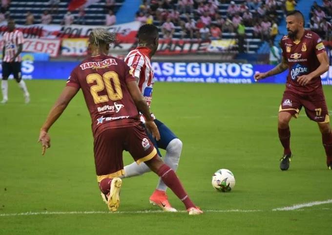 ¡Se devoró al bicampeón! DEPORTES TOLIMA silenció el Metropolitano, con goleada al Junior