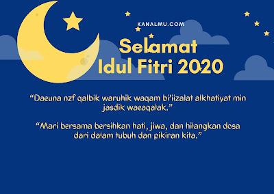 Ucapan Idul Fitri Berbahasa Arab Dan Artinya