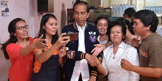 Jokowi Targetkan Menang 97 Persen di Tapanuli Utara