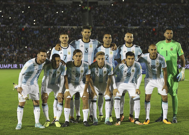 Argentina football team Russia 2018 world cup Messi