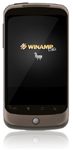 WinAmp Media Player for Android OS -