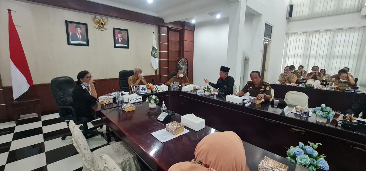 Pimpin Rapat Koordinasi Pembentukan Gusus Tugas  Kabupaten Layak anak, Ini Pesan Yang Disampaikan Bupati Asahan