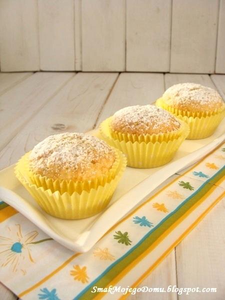 Jogurtowo - cytrynowe muffinki