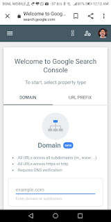 Google seach console me website kaise submit kare?
