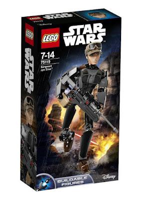 JUGUETES - LEGO Star Wars Rogue One 75119 Sargento Jyn Erso : Figura para construir 2016 | PELICULA | Piezas: 104 | Edad: 7-14 años Comprar en Amazon España