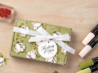 Stampin' Up! Good Morning Magnolia Mini Paper Pumpkin Box