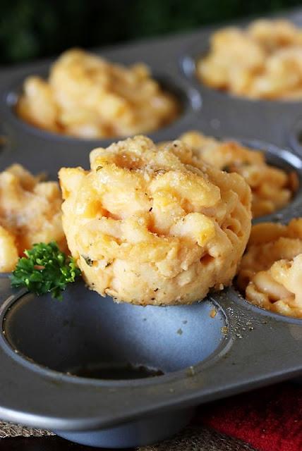Macaroni and Cheese Muffins Image