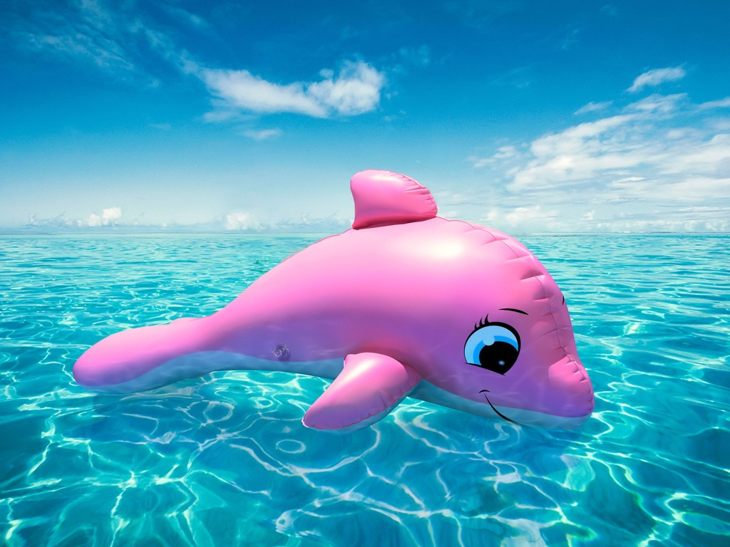 pink dolphin | Awesome WallpapersPink Dolphin Wallpaper