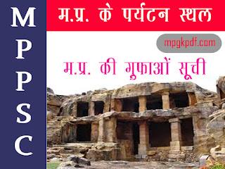 madhya pradesh ki sabhi Guphayen
