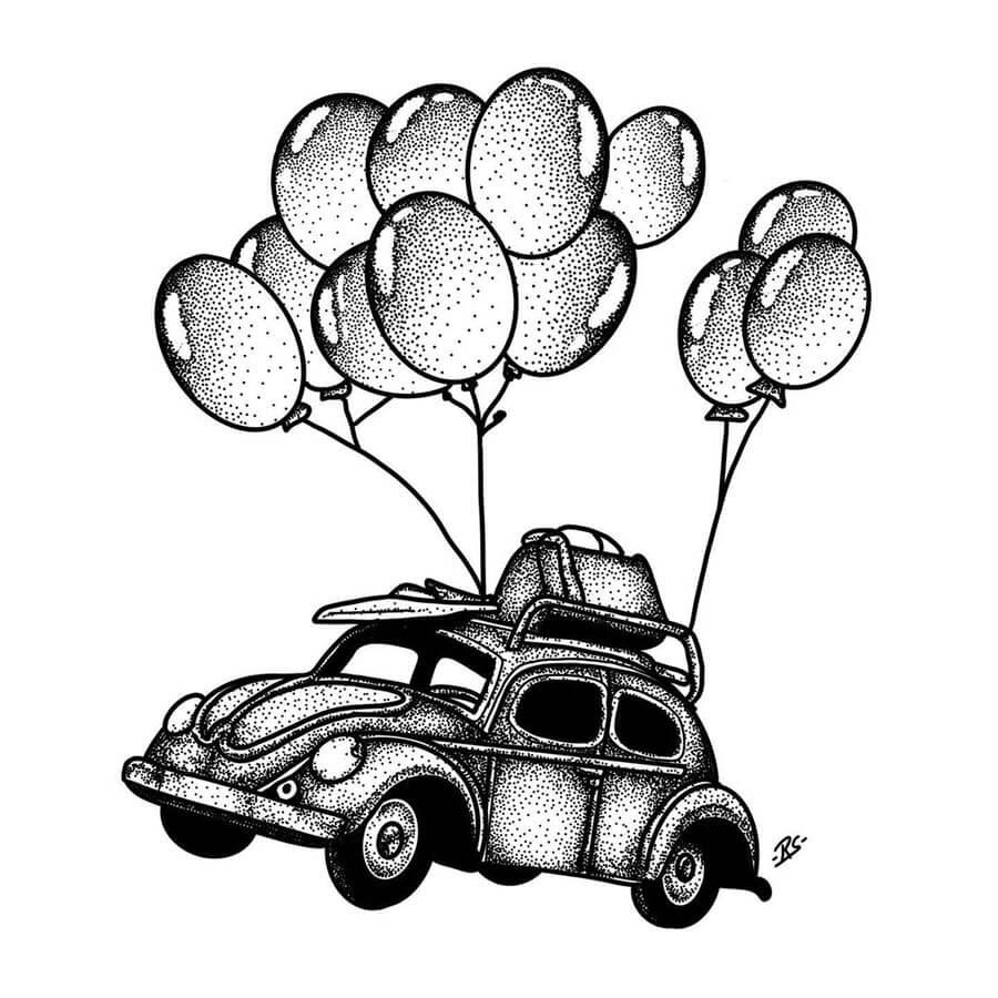 08-Volkswagen-beetle-or-bug-Raghav-Sachdev-www-designstack-co