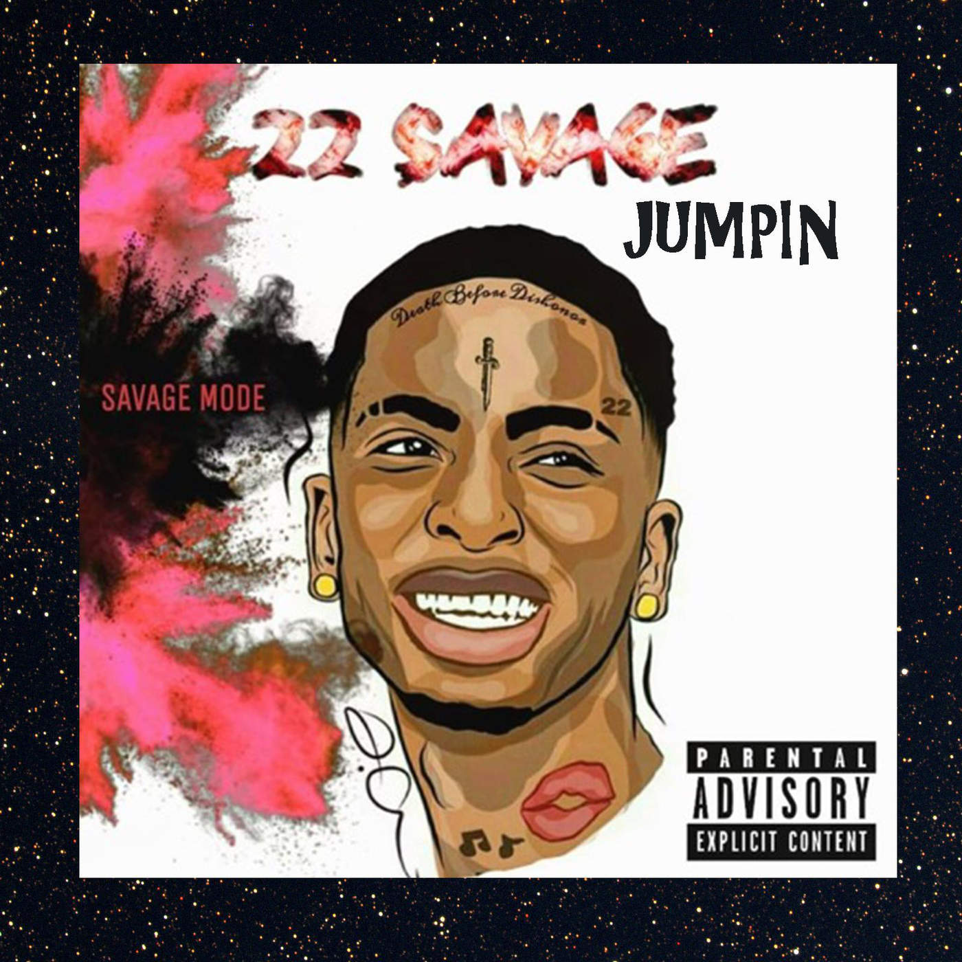 22 Savage - Jumpin - Single Cover