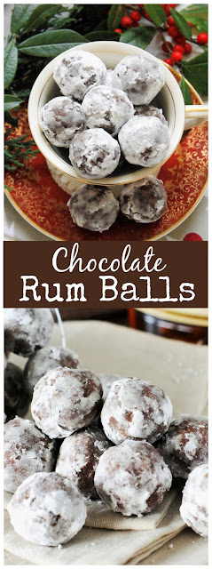 Chocolate Rum Balls image