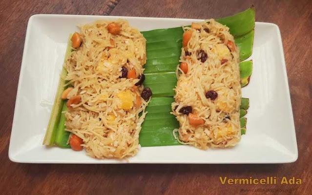 images of Vermicelli Ada / Semiya Ada  - A Kerala Evening Snack Recipe