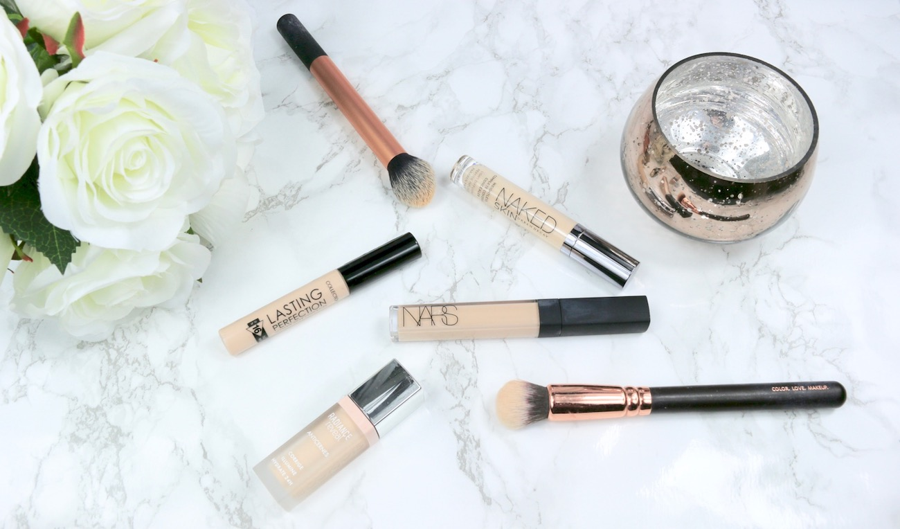 The Concealer Edit Collection Lasting Perfection Concealer, NARS Radiant Creamy Concealer, Urban Decay Naked Skin Concealer and Bourjois Radiance Reveal Concealer