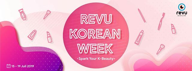 Revu Korean Week , dapatkan 155 K Produk Beauty secara gratis