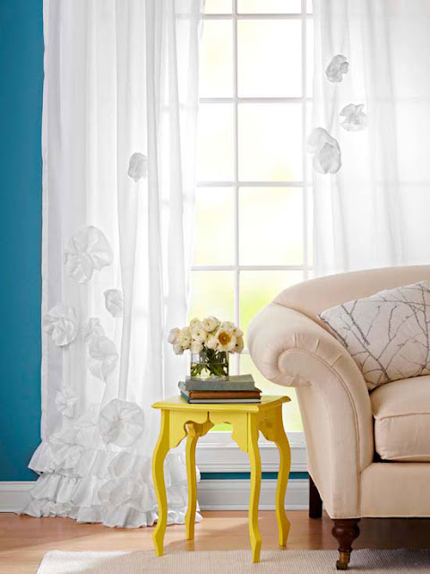 Modern Furniture 15 Easy Window Treatment Projects For
