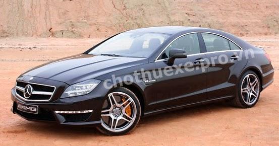 Cho thuê siêu xe Mercedes CLS 63 AMG