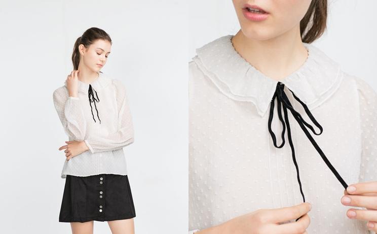 Blusa victoriana y blusa con lazada | Besosdechocolateyfresa