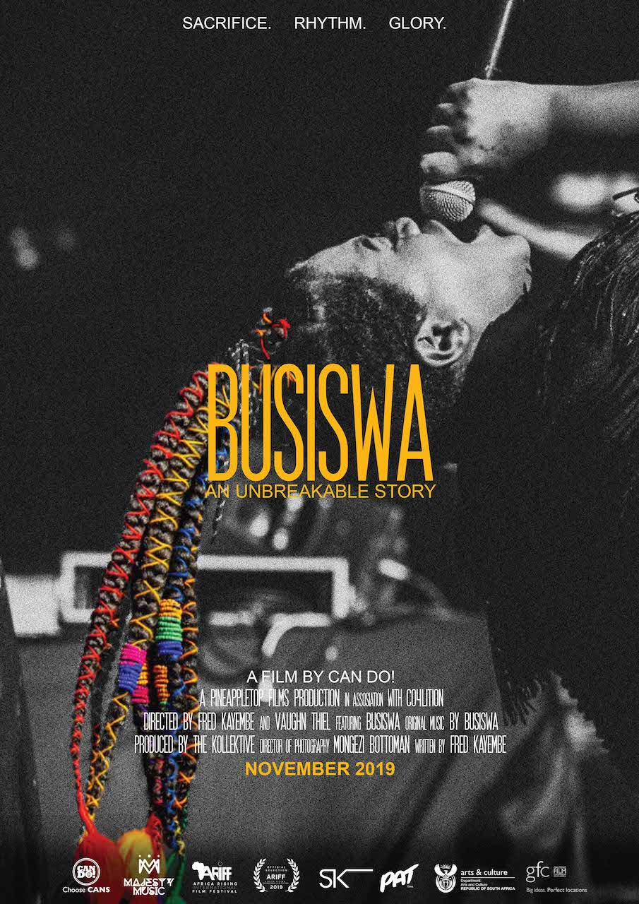 Multi-talented Powerhouse Busiswa's Documentary To Debut At Africa Rising International Film Festival