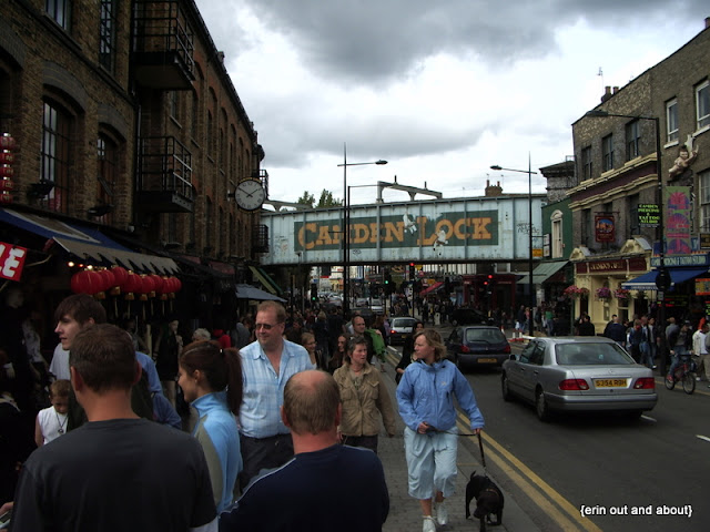 {Erin Out and About} Must do walk in London: Camden Market