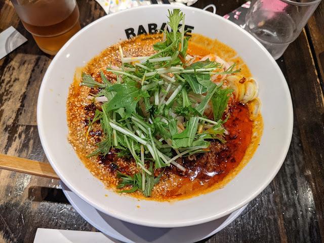 麻辣担々麺 BABAKE(ババケ)は長崎市でおすすめのラーメン屋です!
