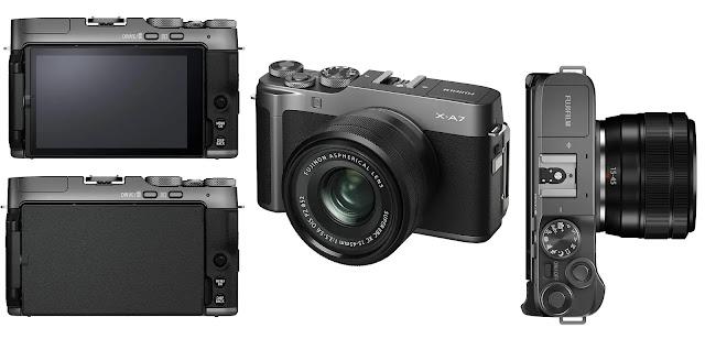 Fujifilm X-A7 Mirrorless Digital Camera